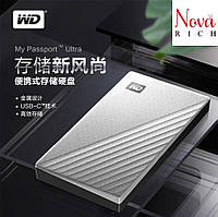 WD My Passport Ultra 4TB Western Digital Внешний жесткий диск в железном корпусе. Оригинал