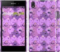 "Чехол на Sony Xperia Z1 C6902 Принцесса Пупырка. Adventure Time. Lumpy Space Princess v3 ""1228c-38"""