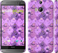 "Чехол на HTC One M8 dual sim Принцесса Пупырка. Adventure Time. Lumpy Space Princess v3 ""1228c-55"""