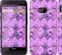 "Чехол на HTC One M7 Принцесса Пупырка. Adventure Time. Lumpy Space Princess v3 ""1228c-36"""