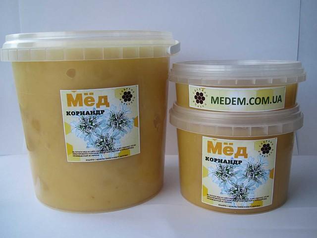 Мед из кориандра полезные
