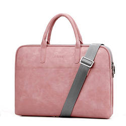 Женская Сумка для Ноутбука/Документов JQMEI (933) Розовая