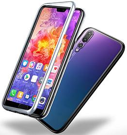 Магнитный чехол (Magnetic case) для Huawei P20 Pro