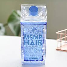 Пляшка для води охолоджуюча EL msmp hair 400 мл синій