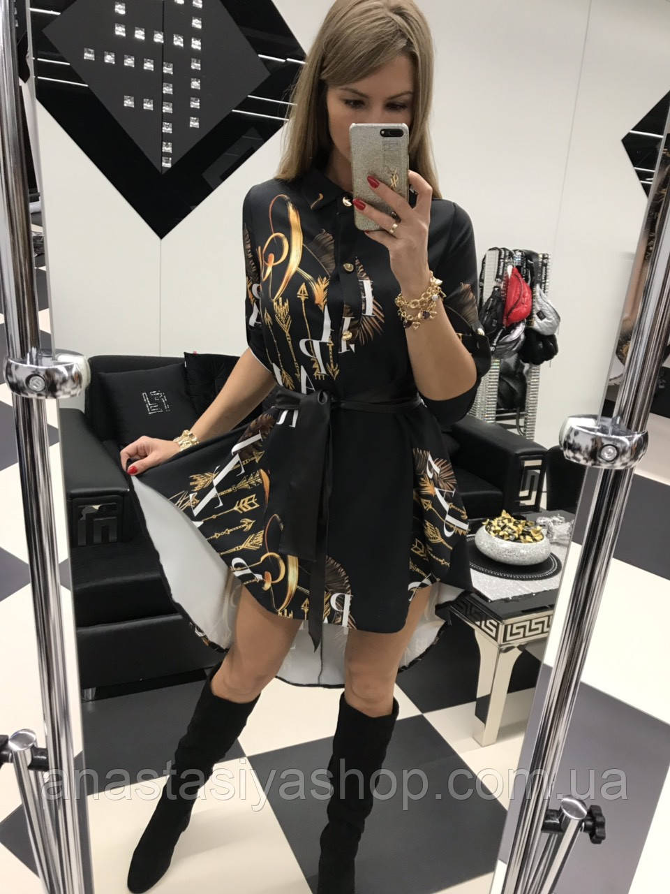 Шикарное платье бренда paparazzi fashion