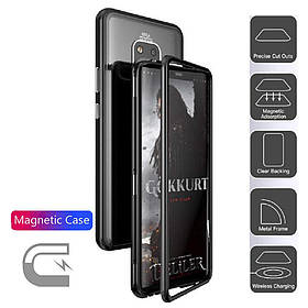 Магнитный чехол (Magnetic case) для Huawei Mate 20 Pro