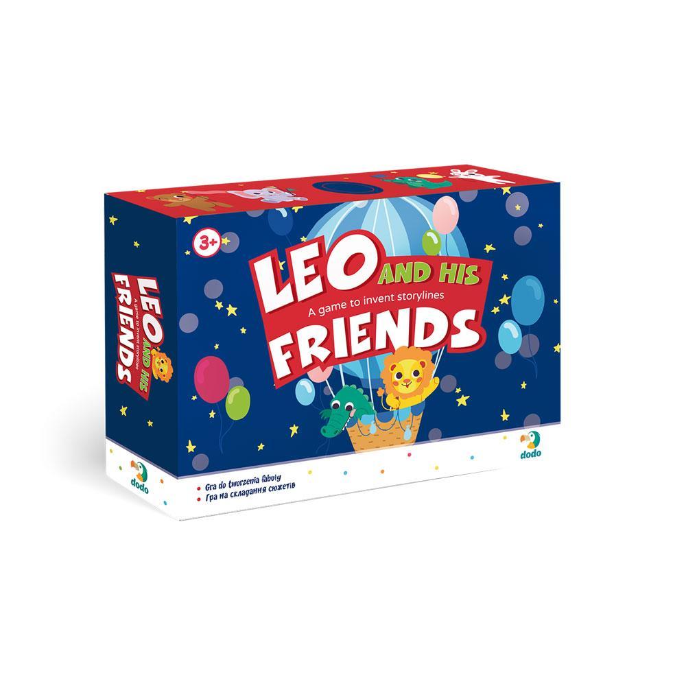 300210 Гра на складання сюжету Лео та його друзі