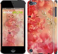 "Чехол на iPod Touch 5 Розовые цветы ""2461c-35"""