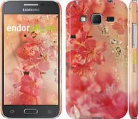 """Чехол на Samsung Galaxy Core Prime G360H Розовые цветы """"2461c-76"""""""