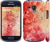 "Чехол на Samsung Galaxy S3 mini Розовые цветы ""2461c-31"""