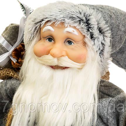Дед Мороз под елку, Санта Клаус с подарками 47 см, фото 2