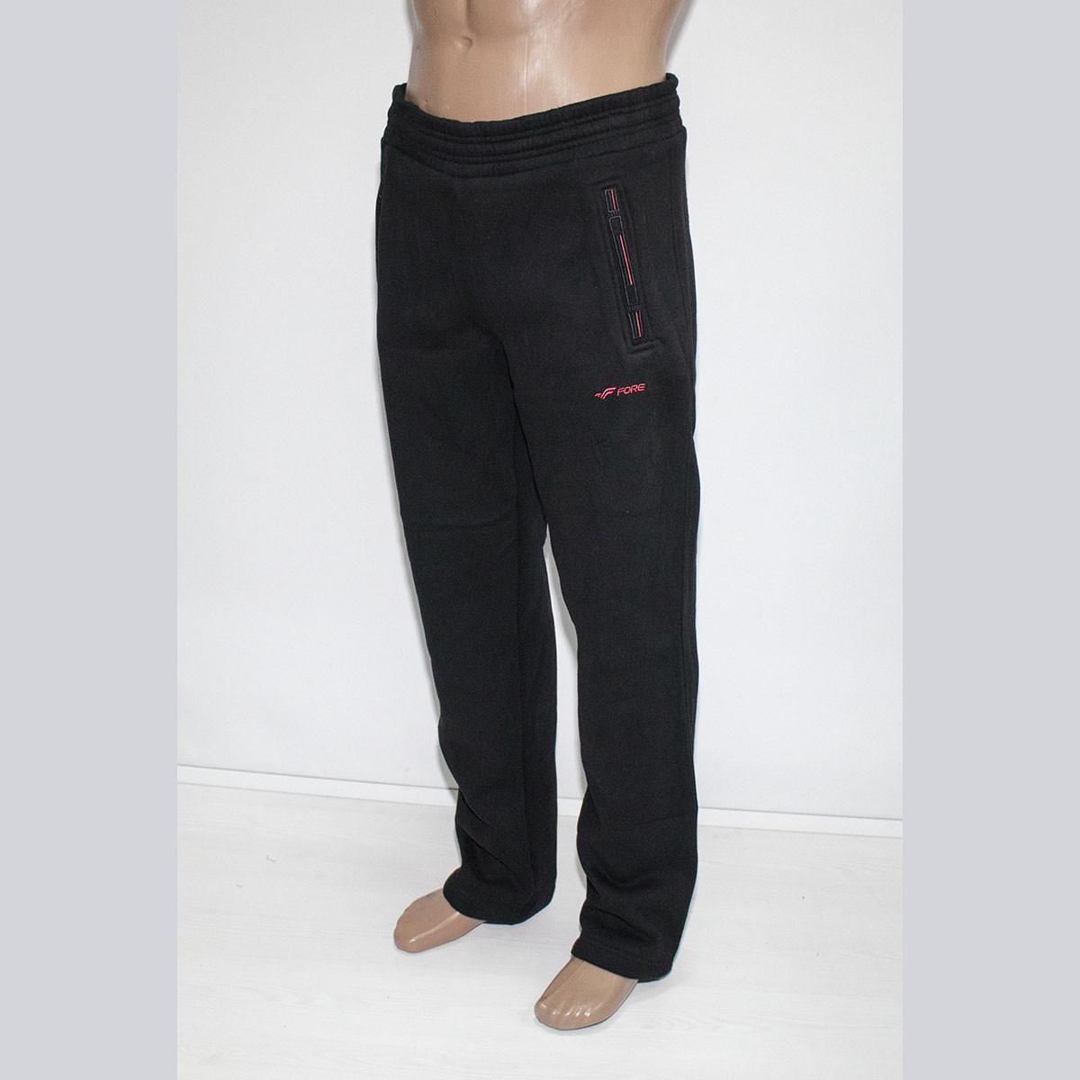 Зимние спортивные штаны на мужчин трехнитка фабрика Турция тм. FORE 1148