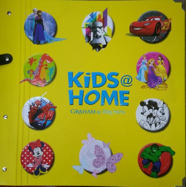 Обои в детскую комнату GRAHAM & BROWN (Англия) - коллекция Kids&Home