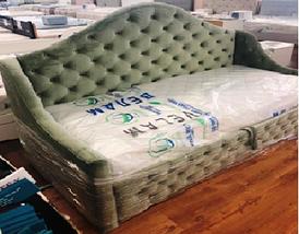 Дитяче ліжко Люкс РАПУНЦЕЛЬ з ящиком для білизни, односпальне, фото 3