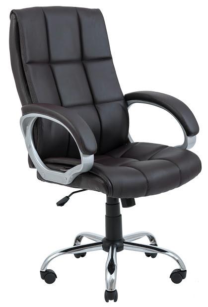 Компьютерное Кресло Аризона коричневое