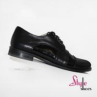 Женские туфли классические оксфорды