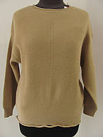Зимний джемпер из плотной вязки, приятная мелкая вязка, (р.44-52), Код 2474М