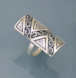 Кольцо из серебра 925 пробы ., фото 2