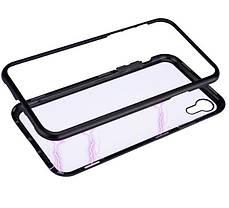 Магнитный чехол (Magnetic case) для Apple Iphone XR, фото 2