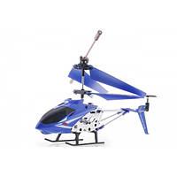 Радиоуправляемый вертолет 3-х канальный с гироскопом 33008 синий
