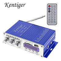 HY-502 аудио усилитель в авто DVD USB MP3 FM SD 2*20 Вт, питание 12В 5А