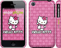"Чехол на iPhone 3Gs Hello kitty. Pink lace ""680c-34"""