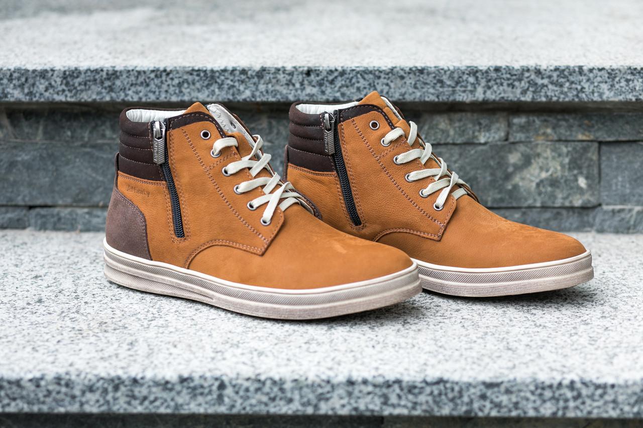 Стильні руді черевики на зиму дозволять вам виділятись серед інших. Остання пара 45 розмір!