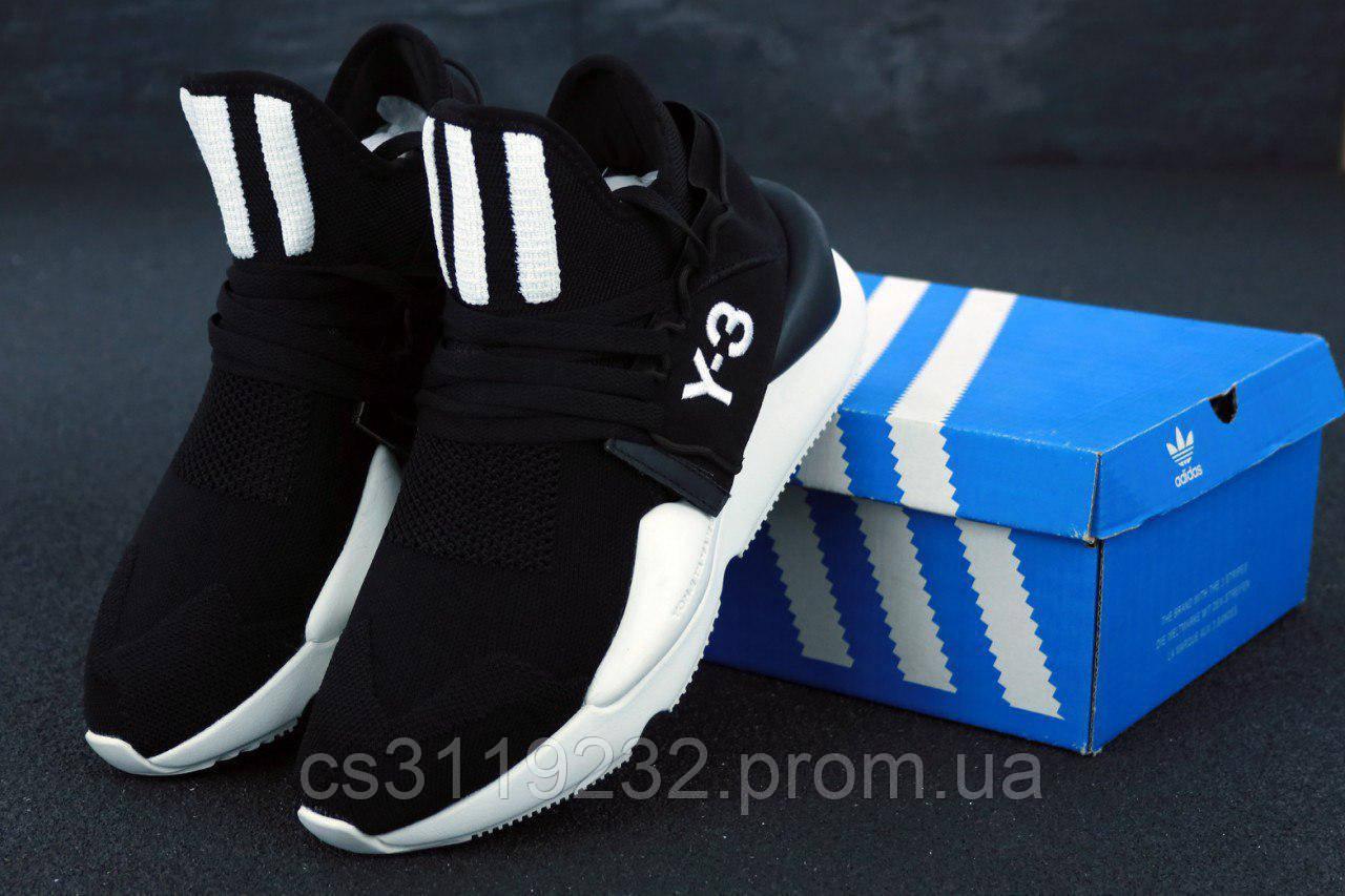 Мужские кроссовки Adidas Yohji Yamamoto Y-3 Kaiwa (черные)
