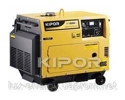 Электростанции KIPOR серии KDE, KDA, 1 ф дизельные, фото 2