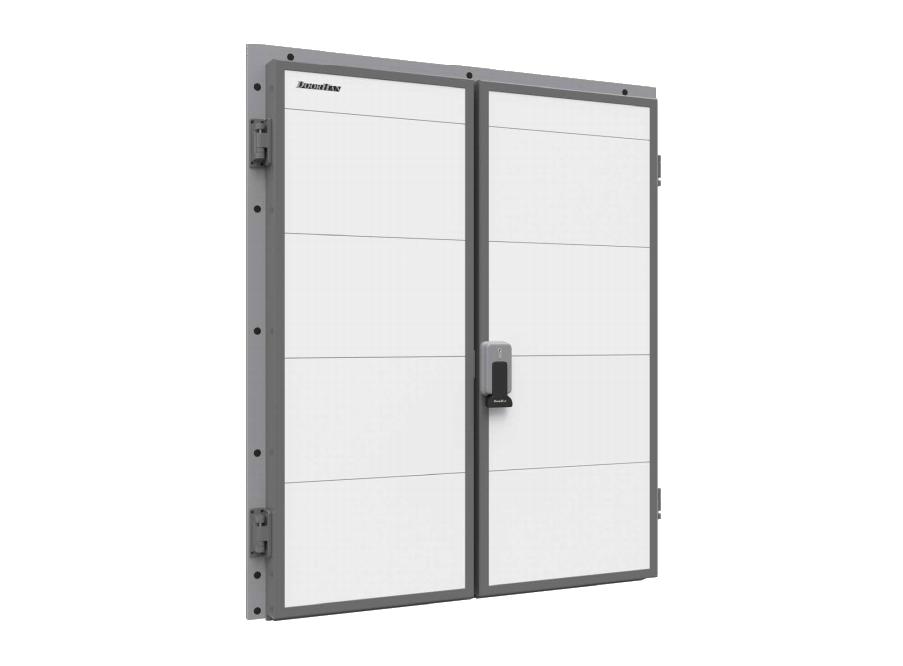 DoorHan IsoDoor IDH2 — дверь распашная двухстворчатая для охлаждаемых помещений