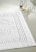 "Полотенце-коврик для ног махровое, 50х70 см. Белый. 230 г/шт. Пл.650 г/м2, Хлопок 100%. Турция, ""SELONYA"""