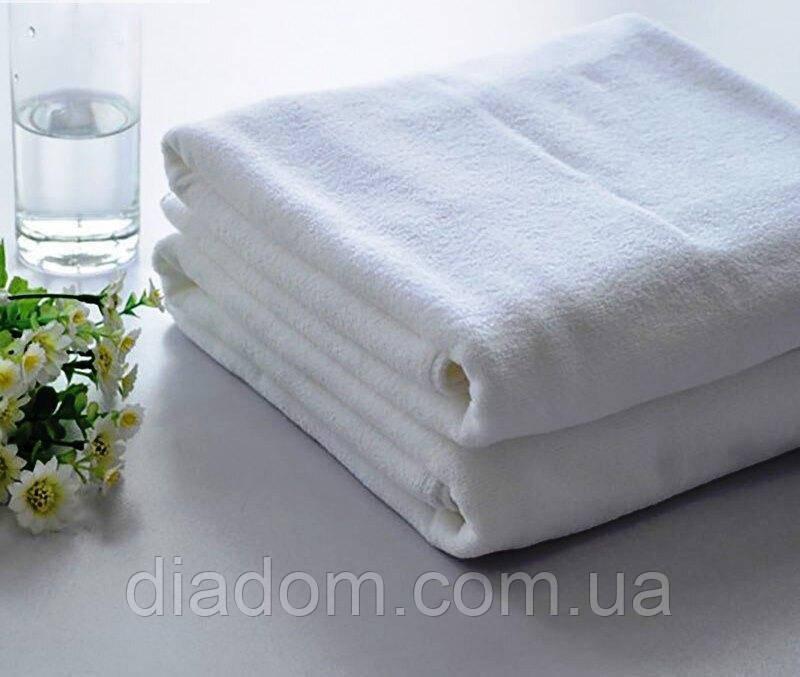 "Полотенце для сауны махровое, 100х150 см. Белый. 630 г/шт. Пл.420 г/м2, Хлопок 100%. Турция, ""SELONYA"""