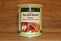 Акриловый лак для интерьеров, Naturaaqua Mobilack, Borma Wachs, Interiors Line, 0-5% Gloss, 1 литр