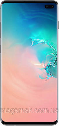 Смартфон Samsung Galaxy S10 Plus 8/128 GB White, фото 2