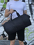 Мужская спортивная сумка Reebok (черная), фото 2