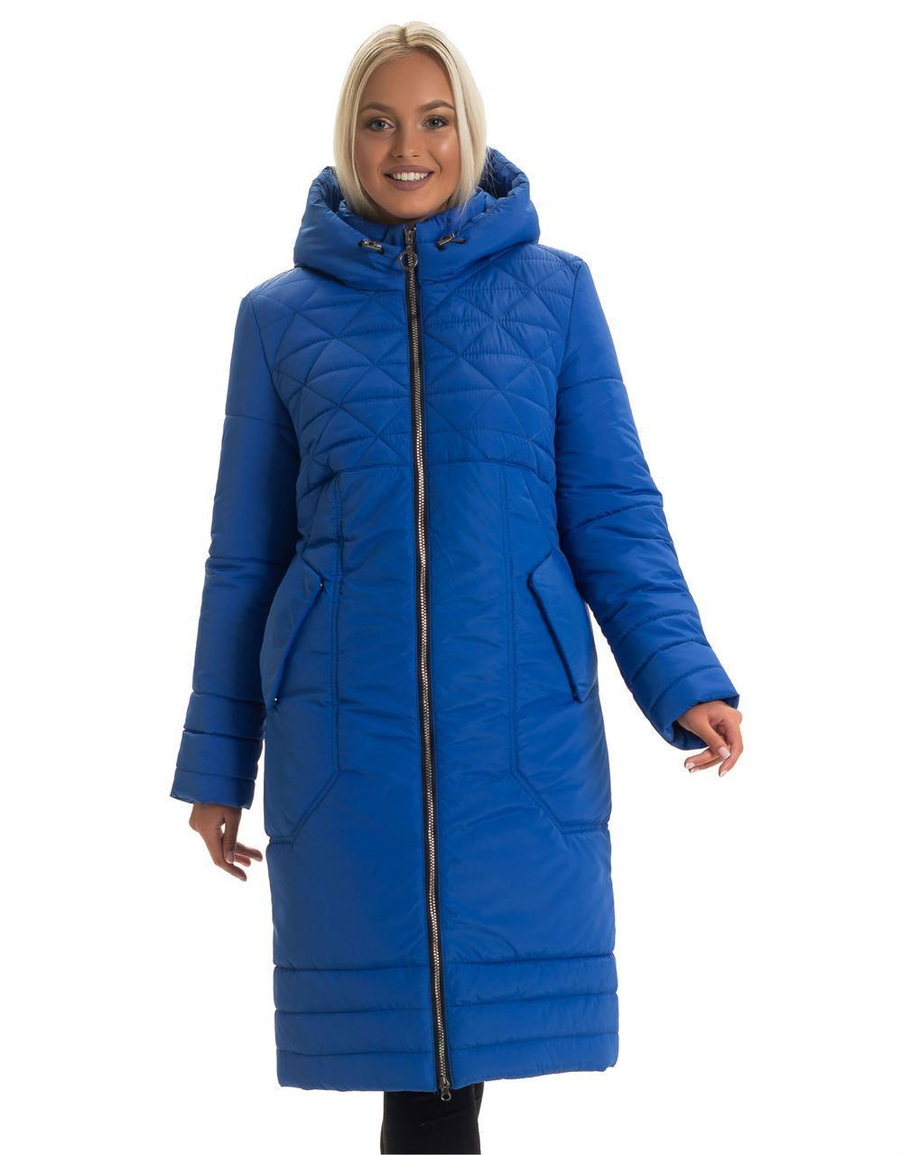 Жіночий зимовий пуховик, розміри 44 - 56
