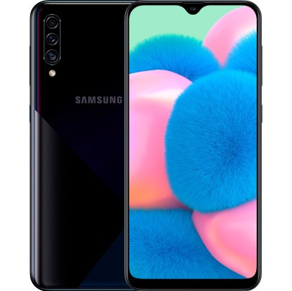 Samsung Galaxy A30s 2019 3/32GB Black (SM-A307FZKU) (12 мес. гарантия)