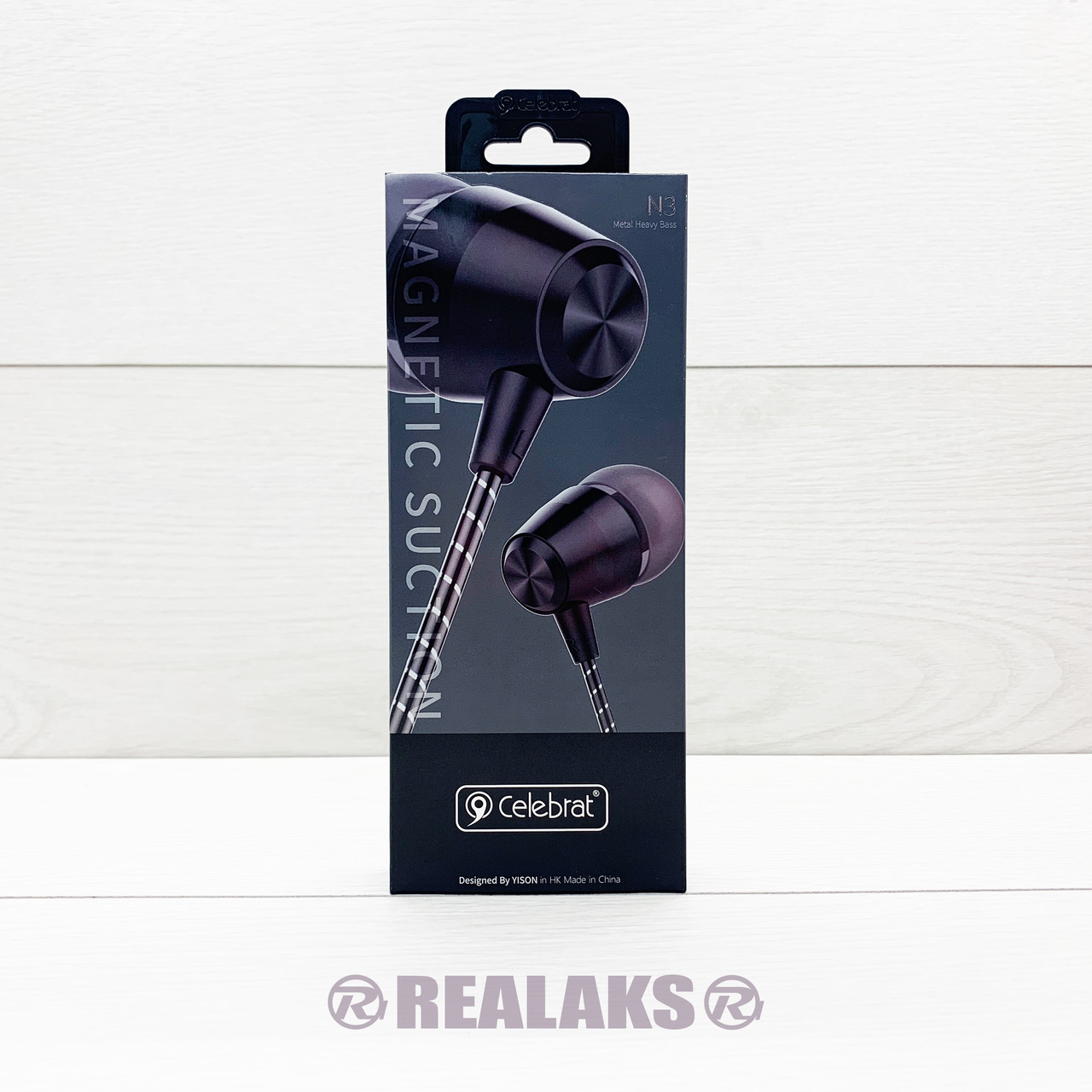 Наушники проводные CELEBRAT N3 (Black)