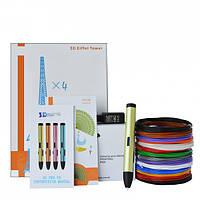 3D-ручка Air Pen Play V6 Green с Набором PLA Пластика 60 метров (12 цветов) и Аксессуары