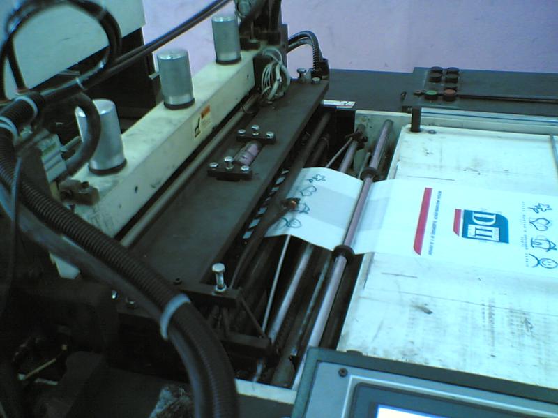 Автоматизация станка для производства ПЭ и ПП пакетов.