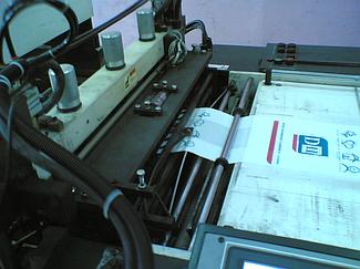 Автоматизация станка для производства ПЭ и ПП пакетов. 2