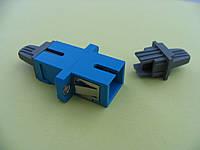 Адаптер оптический SC SM SIMPLEX BLUE
