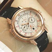 Часы мужские наручные Patek Philippe Sky Moon Black/Gold/White, фото 1
