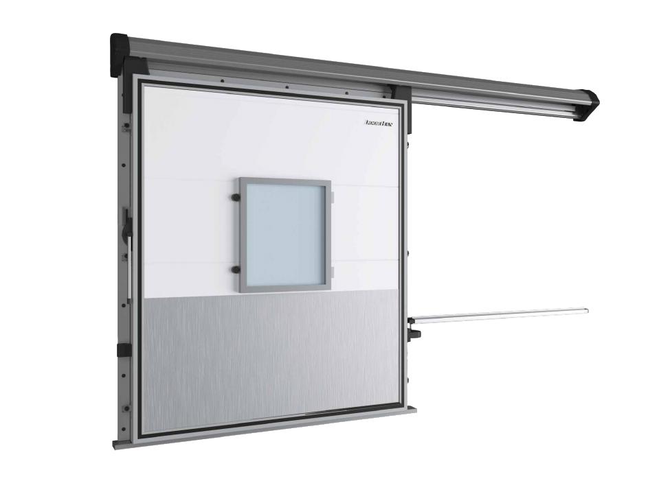 Откатная дверь DoorHan для камер с регулируемой газовой средой