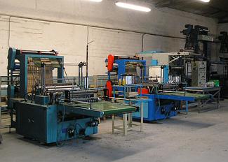 Автоматизация станка для производства ПЭ и ПП пакетов. 10