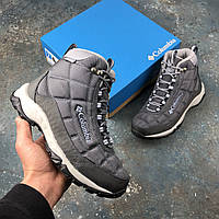 Оригинальные зимние ботинки Columbia Firecamp Boot Graphite Faded Sky, BL1766 - 053