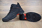 Мужские зимние кроссовки Adidas Climaproof (черно-красные), фото 6