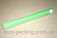 Ярко-зеленая органза для упаковки цветов 50 см * 9 ярдов