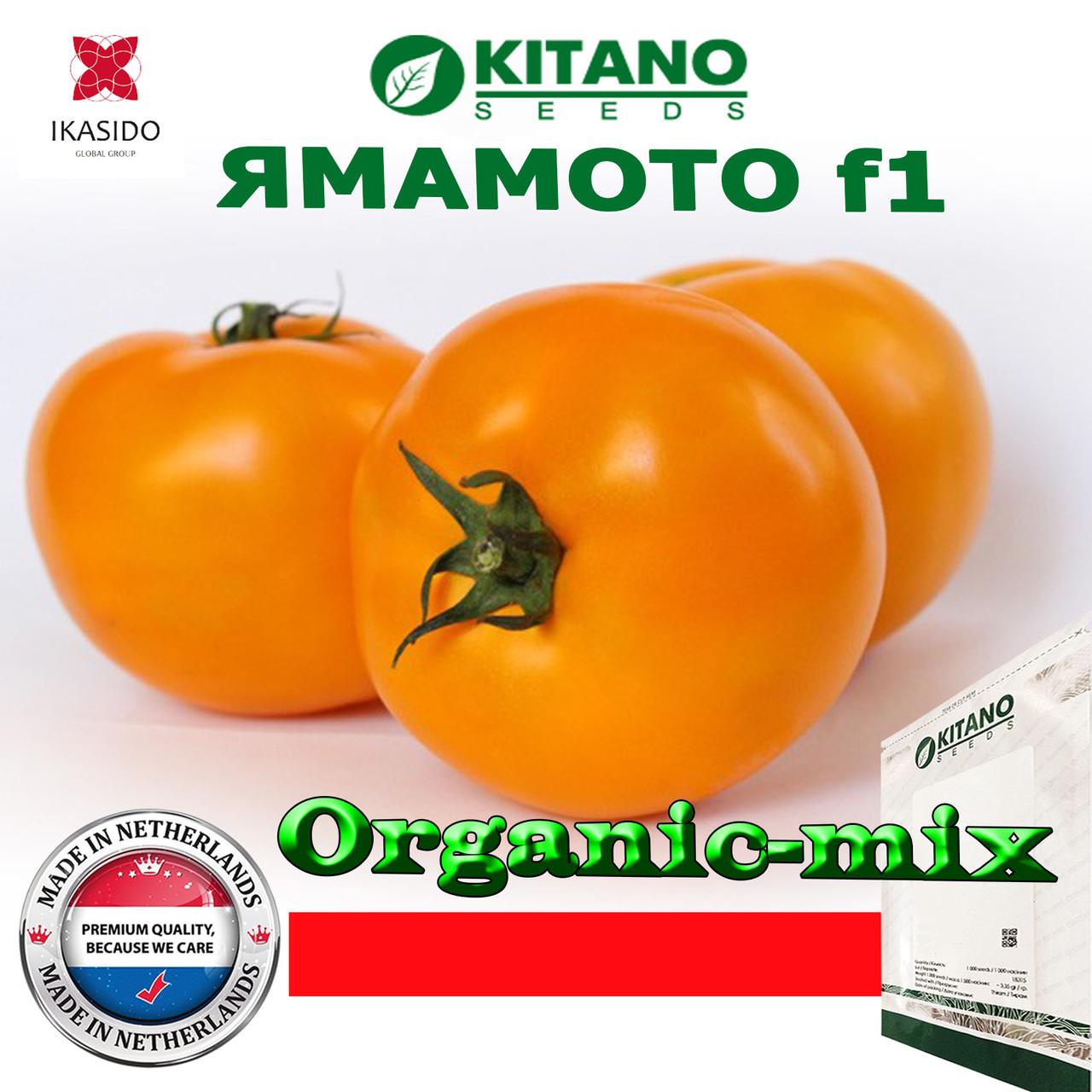 Высокорослый, золотисто-желтый томат ЯМАМОТО (КС 10) F1, ТМ Kitano Seeds (100 семян)