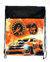 """Сумка для сменки с карманом ТМ Vombato """"Hot Wheels""""   , фото 1"""
